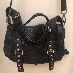 Rebecca Minkoff black leather pocketbook